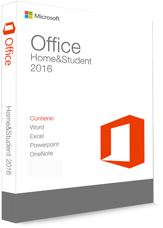 Microsoft Office 2016 Home & Student 32/64 Bit - (Product Key)