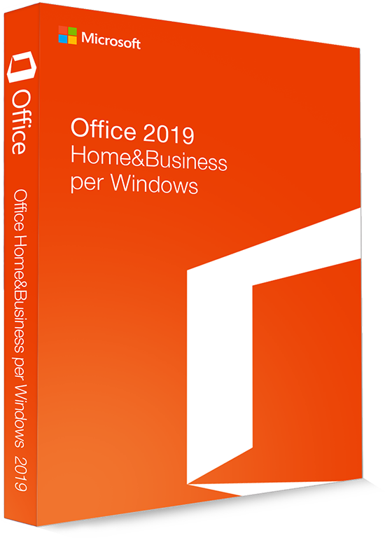 Microsoft Office 2019 Home & Business 32/64 Bit - (Product Key)