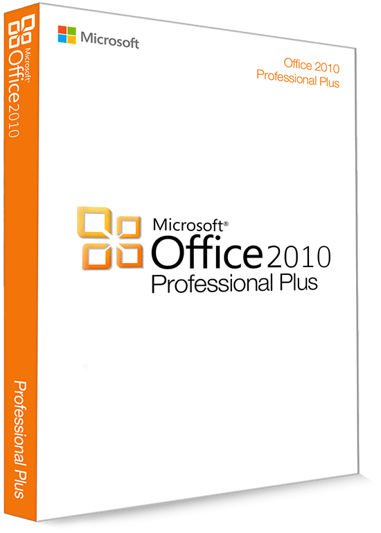 Microsoft Office 2010 Professional Plus 32/64 Bit - (Product Key)