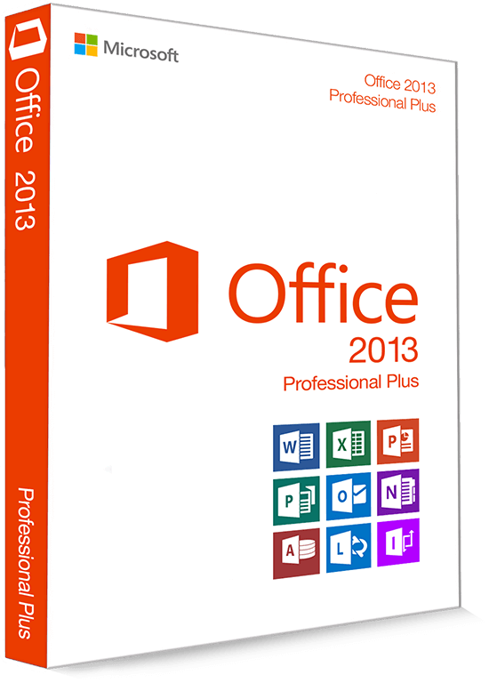 Microsoft Office 2013 Professional Plus 32/64 Bit - (Product Key)