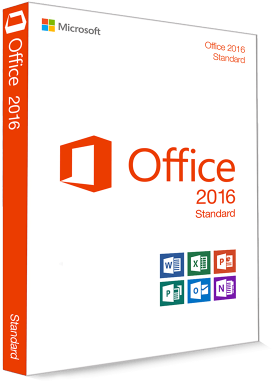 Microsoft Office 2016 Standard 32/64 Bit (Home & Business) - (Product Key)