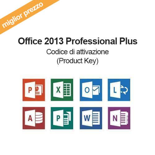 Acquista licenza key per office 2013 professional plus - Key for office professional plus 2013 ...