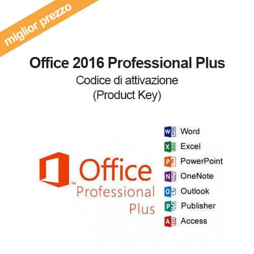 Acquista licenza key per office 2016 professional plus - Office professional plus product key ...