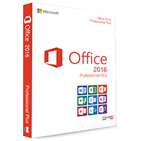 Microsoft Office 2016 Professional Plus 32/64 Bit - (Product Key)