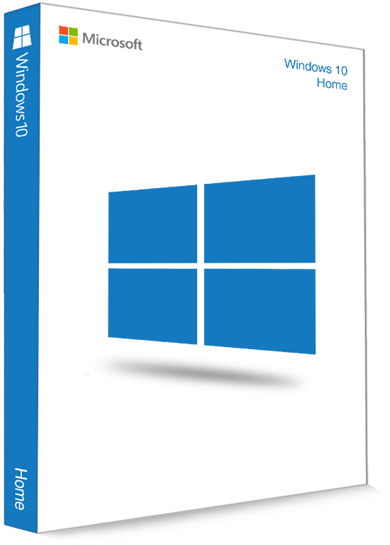 Microsoft Windows 10 Home 32/64 Bit - (Product Key)